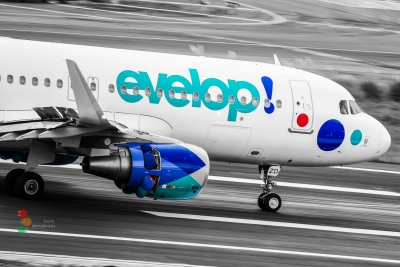 Airbus A320 Evelop Airlines