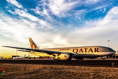 Boeing B777-200 Qatar Airways Cargo